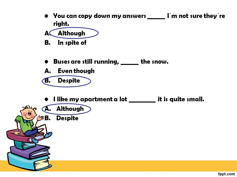 You can copy down my answers ______ I´m not sure they´re right.