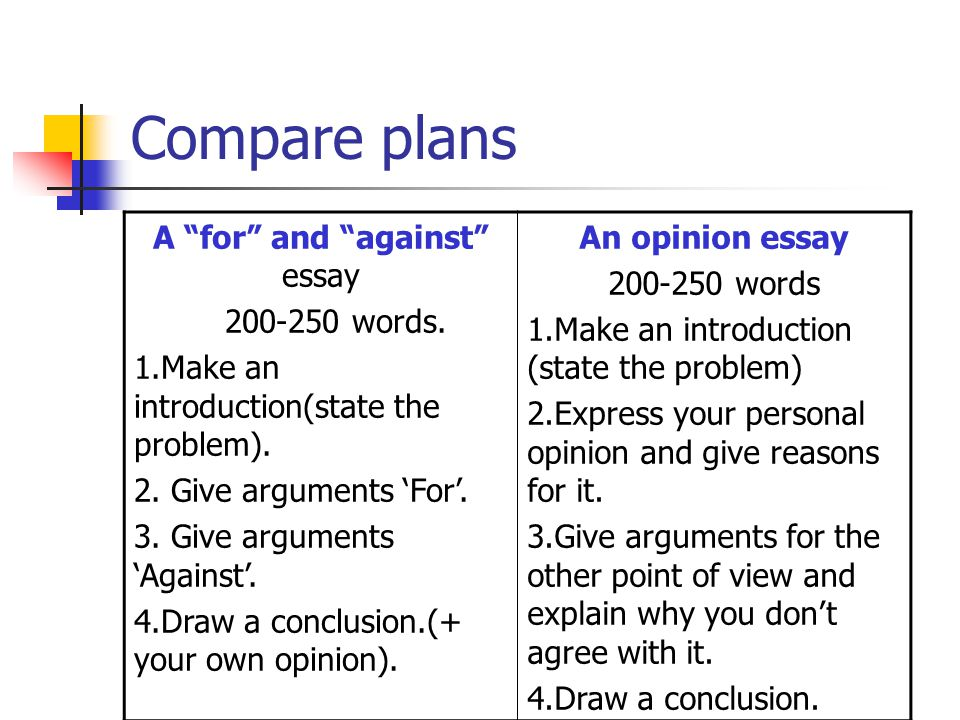 How to Write a Personal Opinion Argument Essay