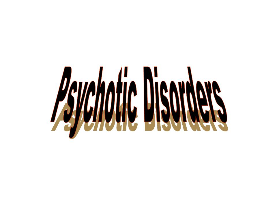 psychotic disorders Psychosis is an abnormal condition of the mind that results in difficulties determining what is real and what is not symptoms may include false beliefs (delusions) and seeing or hearing things that others do not see or hear (hallucinations).