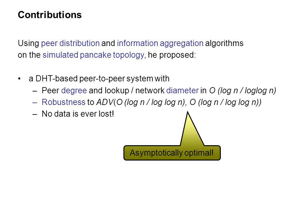 Asymptotically optimal!
