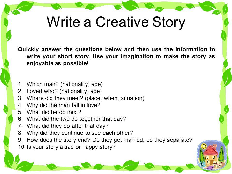 Write a Creative Story