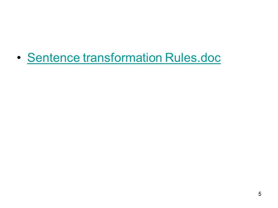 Sentence transformation Rules.doc