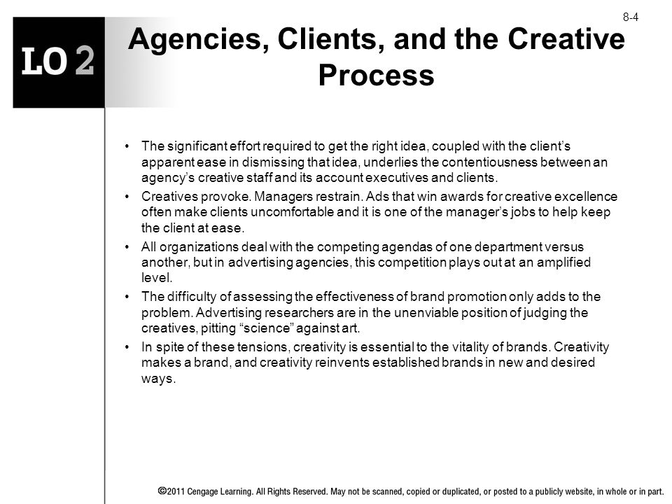 Agencies, Clients, and the Creative Process