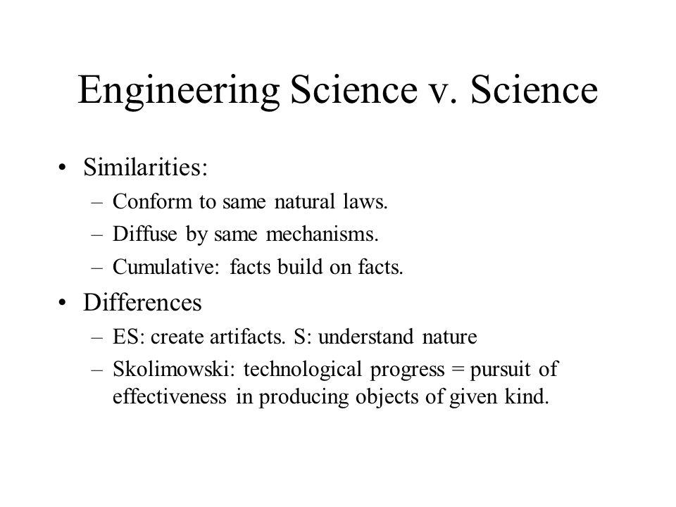 Engineering Science v. Science