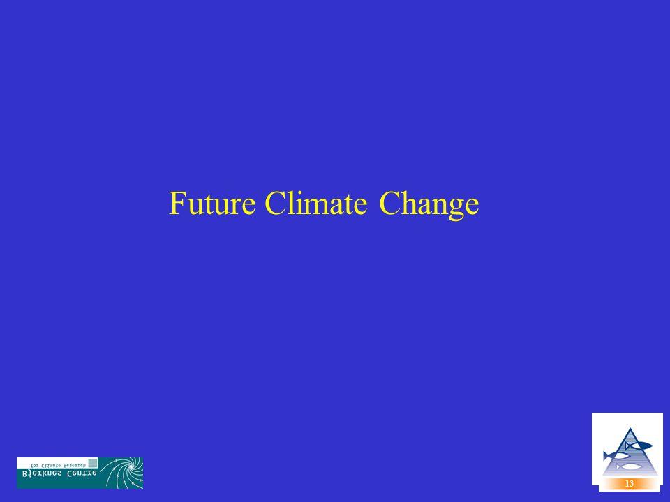 Future Climate Change