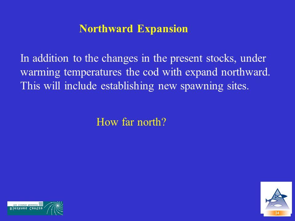 Northward Expansion