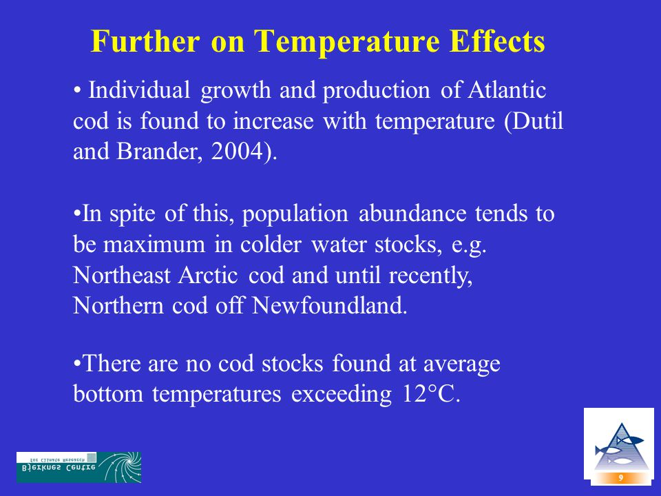 Further on Temperature Effects