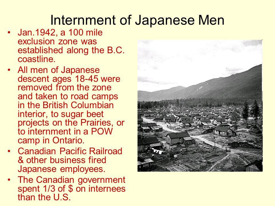 Internment of Japanese Men