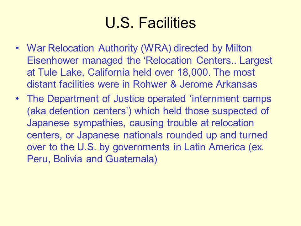 U.S. Facilities