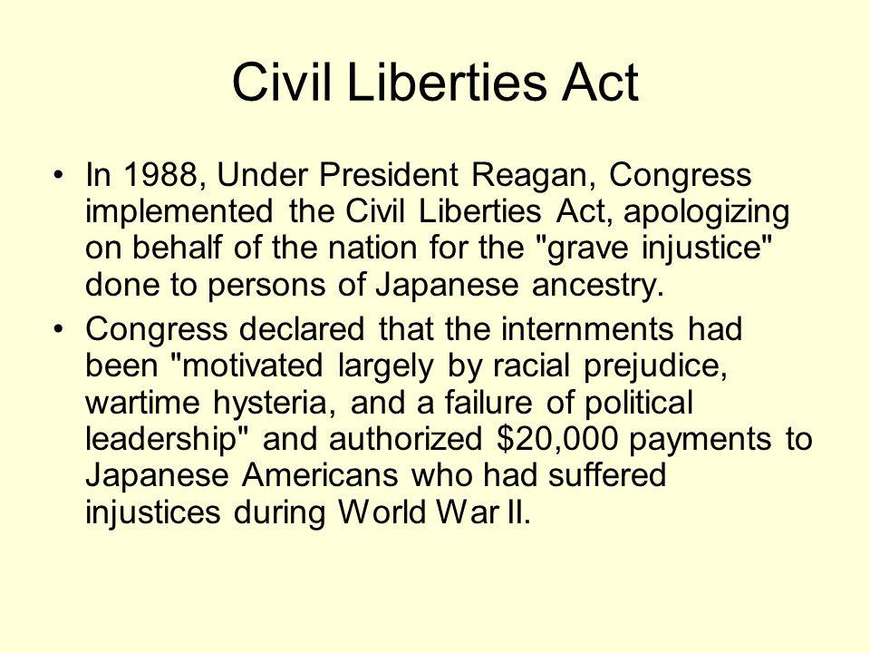 Civil Liberties Act