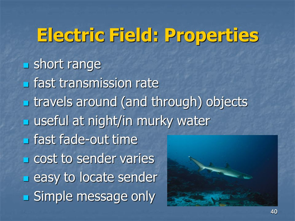 Electric Field: Properties