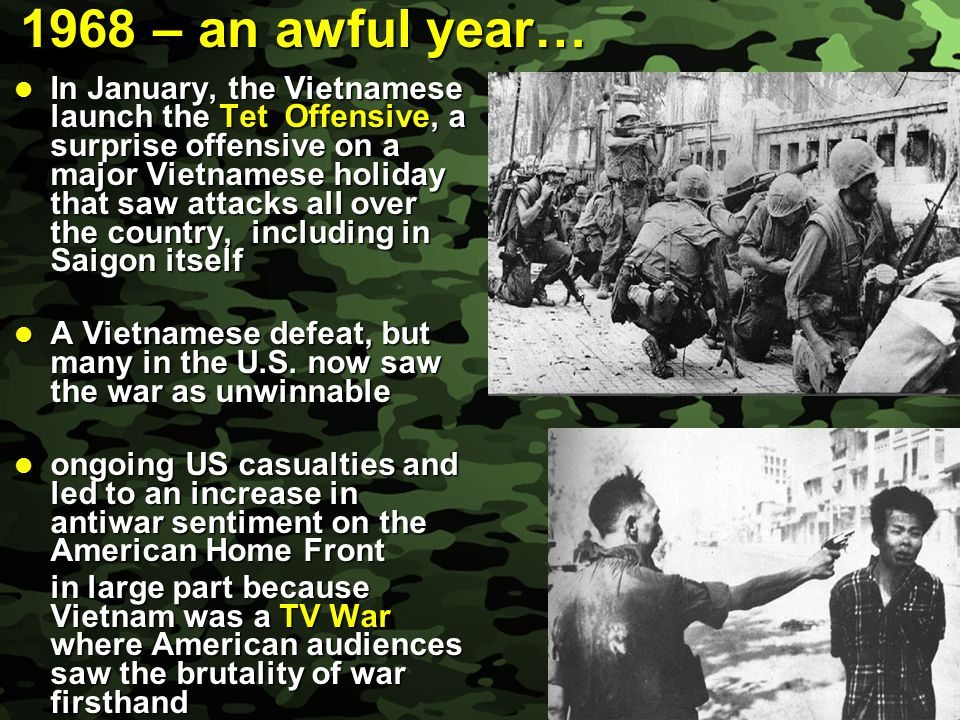 1968 – an awful year…