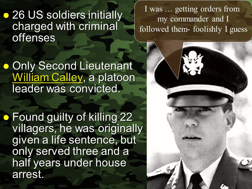 26 US soldiers initially charged with criminal offenses
