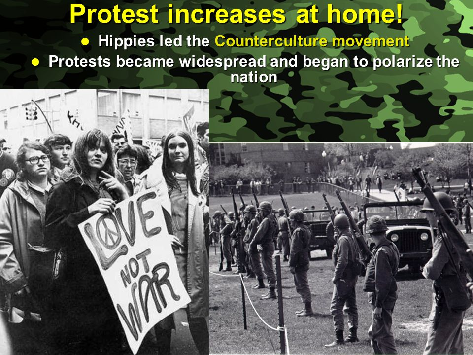 Protest increases at home!