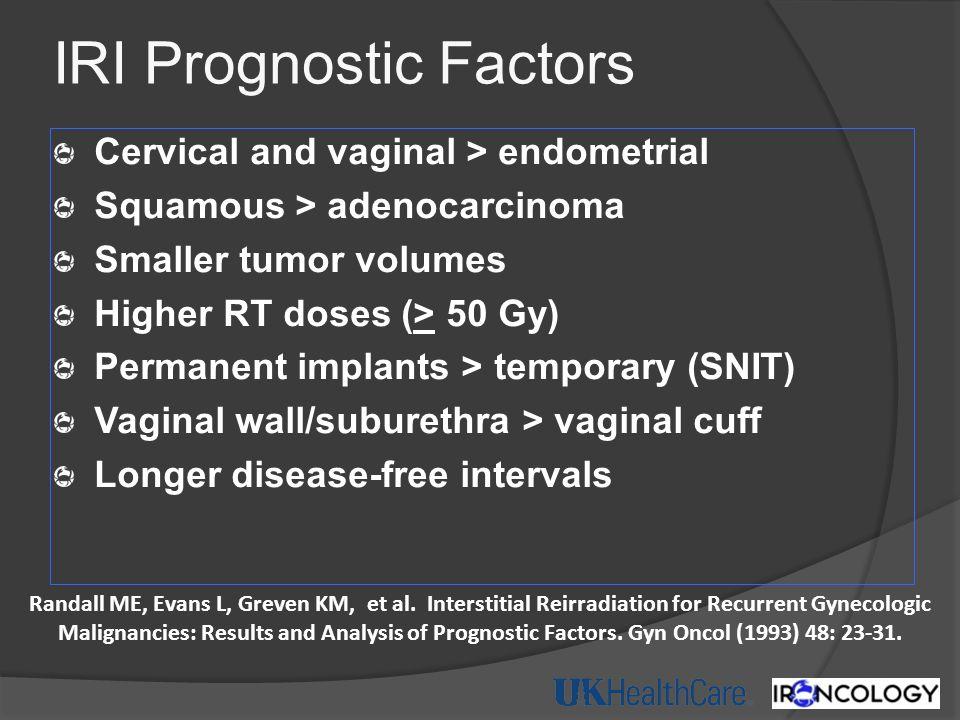 IRI Prognostic Factors