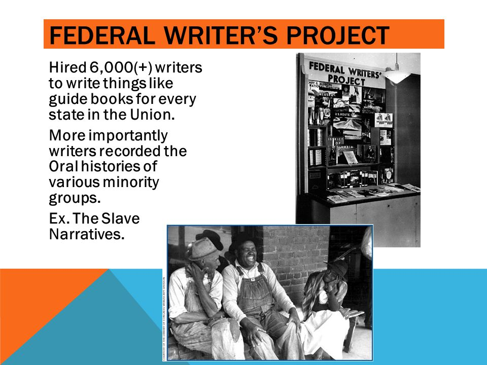 ______ _____ _ _______ Federal Writer's project