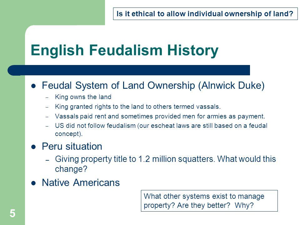 English Feudalism History