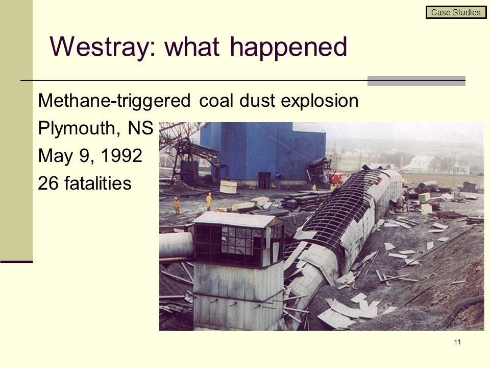 Westray: what happened