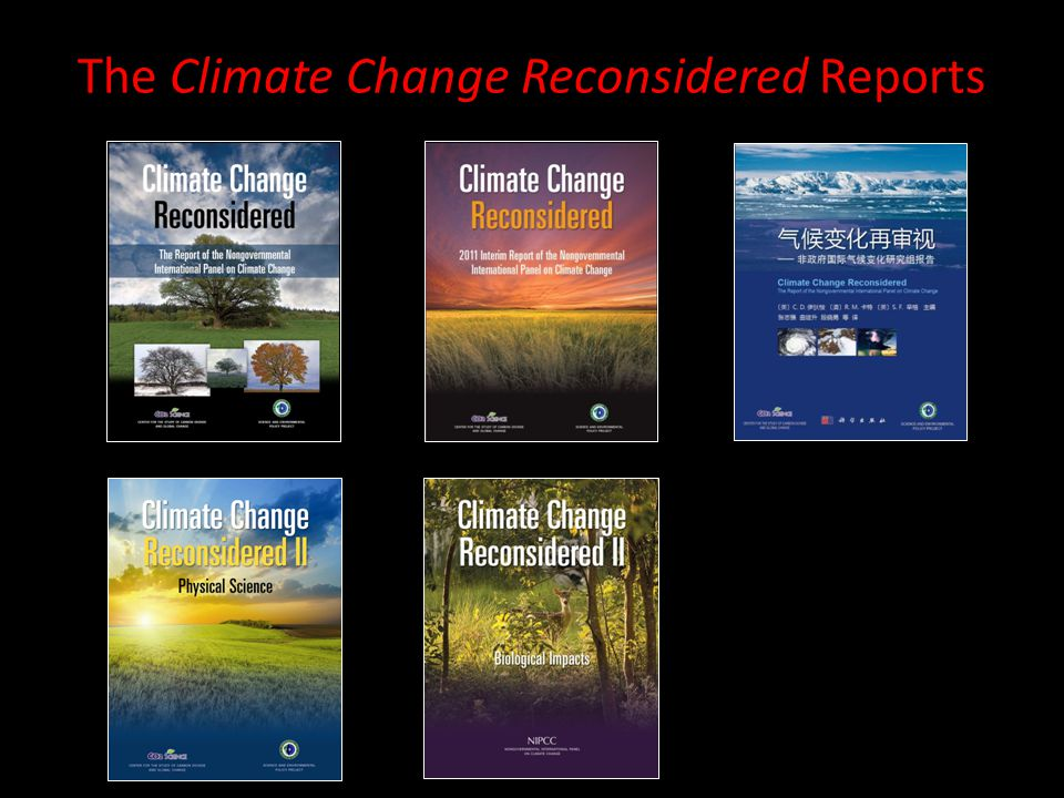 The Climate Change Reconsidered Reports