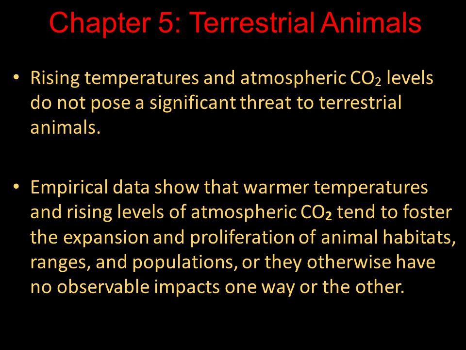 Chapter 5: Terrestrial Animals
