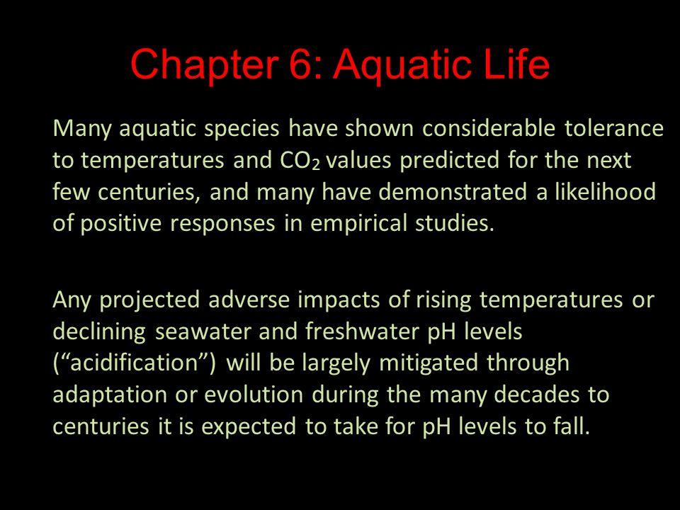 Chapter 6: Aquatic Life