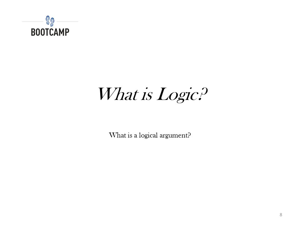 What is a logical argument