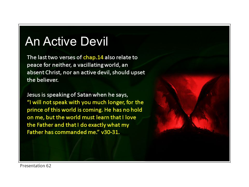 An Active Devil