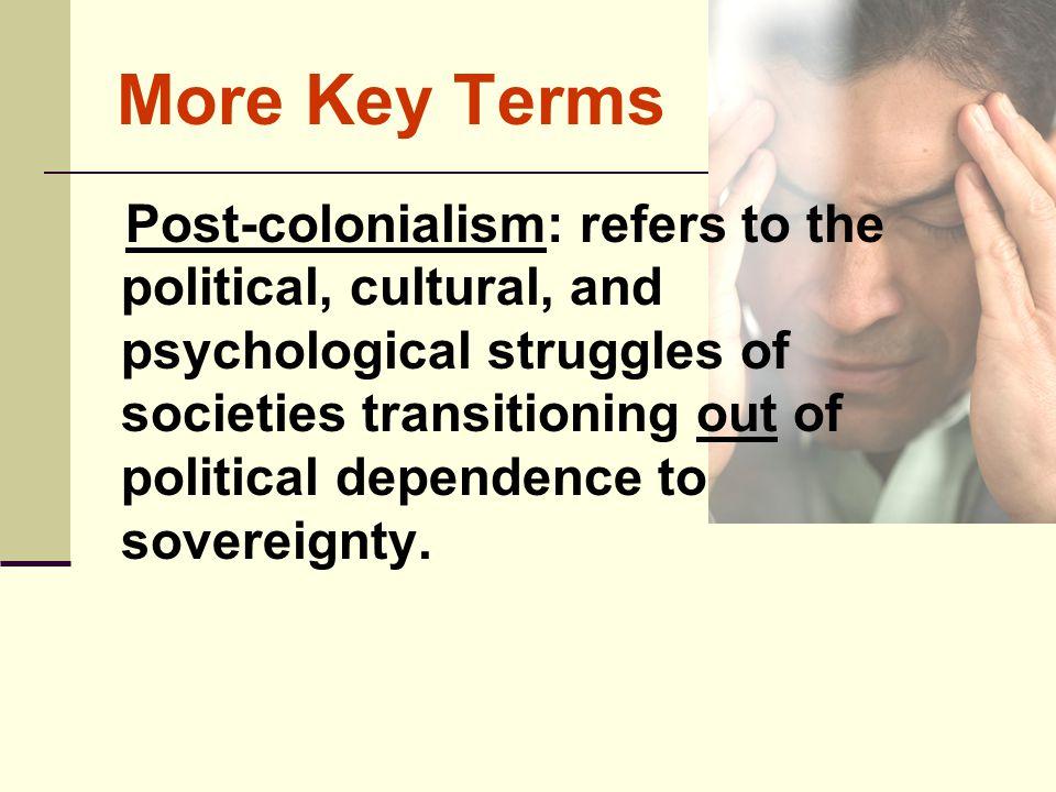 More Key Terms