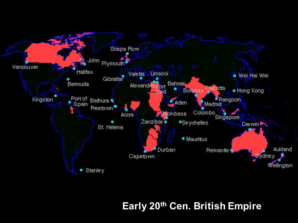 Early 20th Cen. British Empire