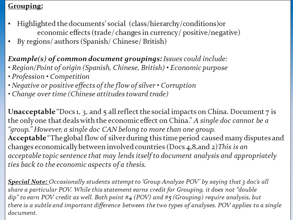 Highlighted the documents' social (class/hierarchy/conditions)or