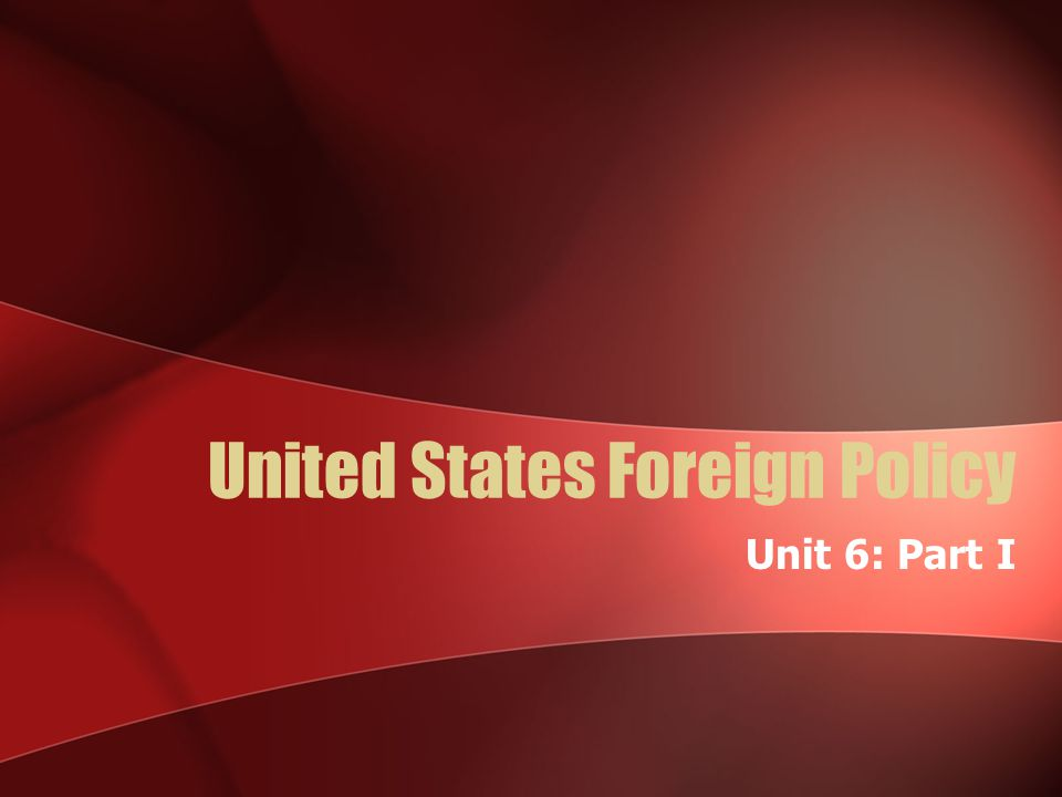 an analysis of foreign policies of the united states in the 1920s At first glance, wilson's particular vision of america's role in the world may not sound radically new since the founding, americans had fondly hoped that the united states, through its foreign policy and the example it set, would foster the spread of freedom and self-government among the peoples of the earth.