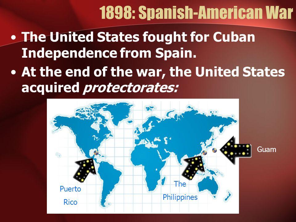 1898: Spanish-American War