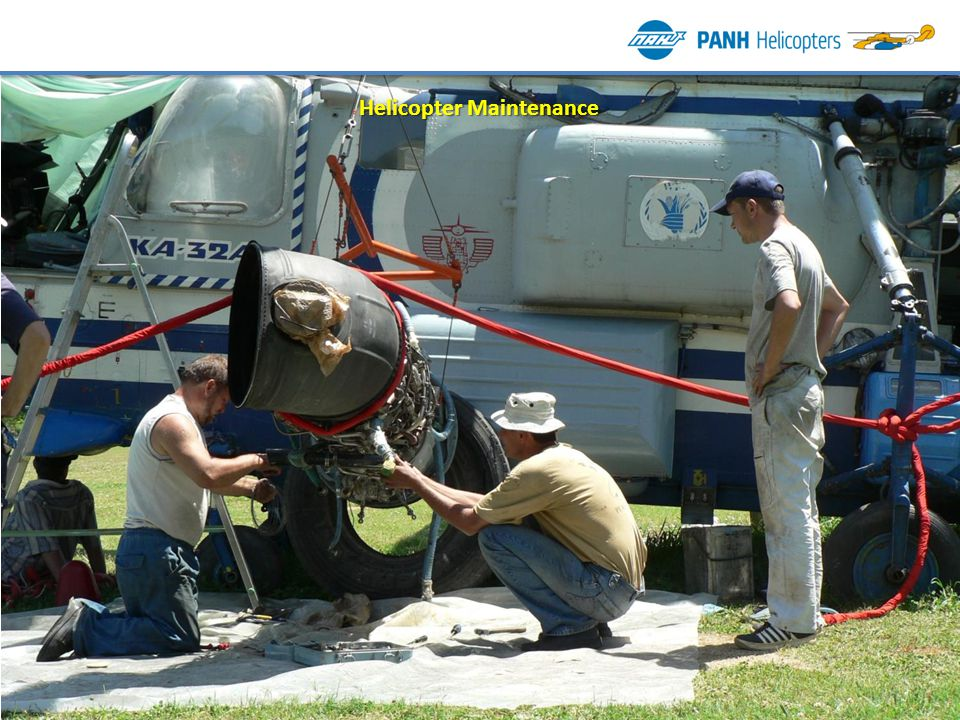 Helicopter Maintenance