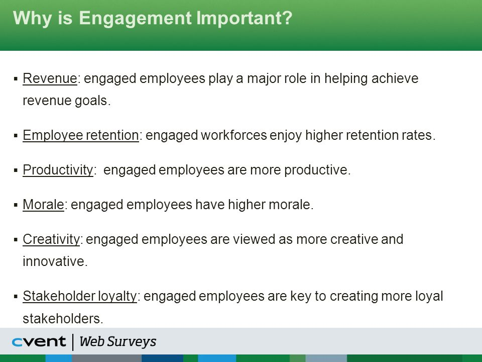 Why is Engagement Important