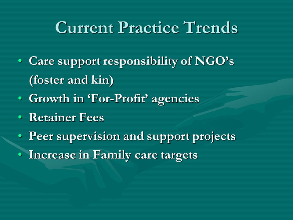 Current Practice Trends
