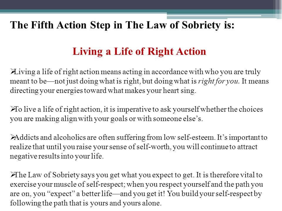 Living a Life of Right Action