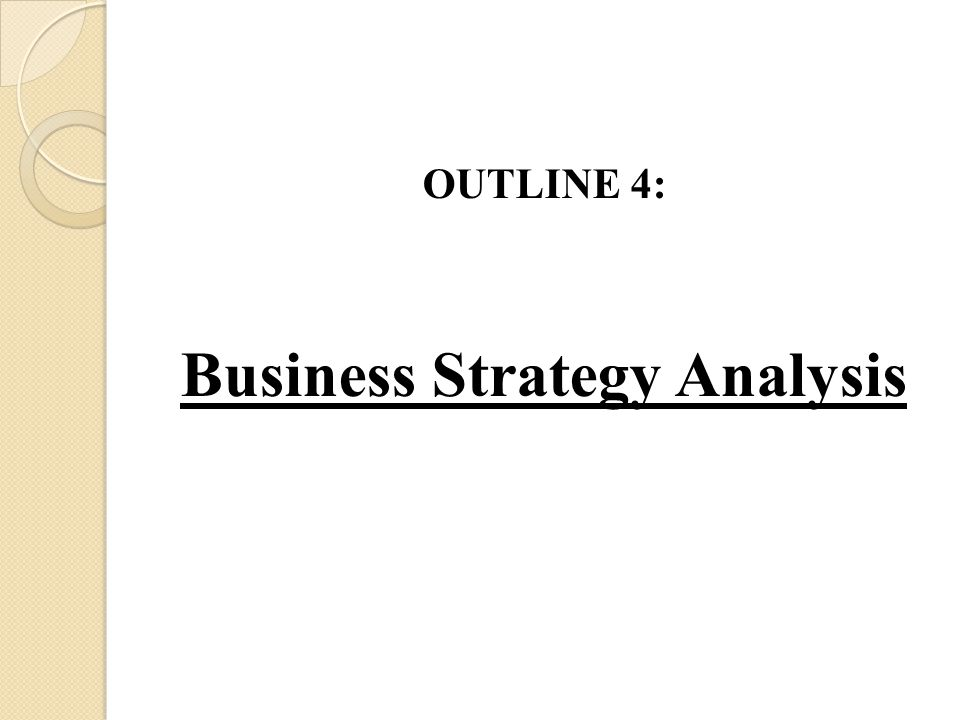 Business Strategy Analysis