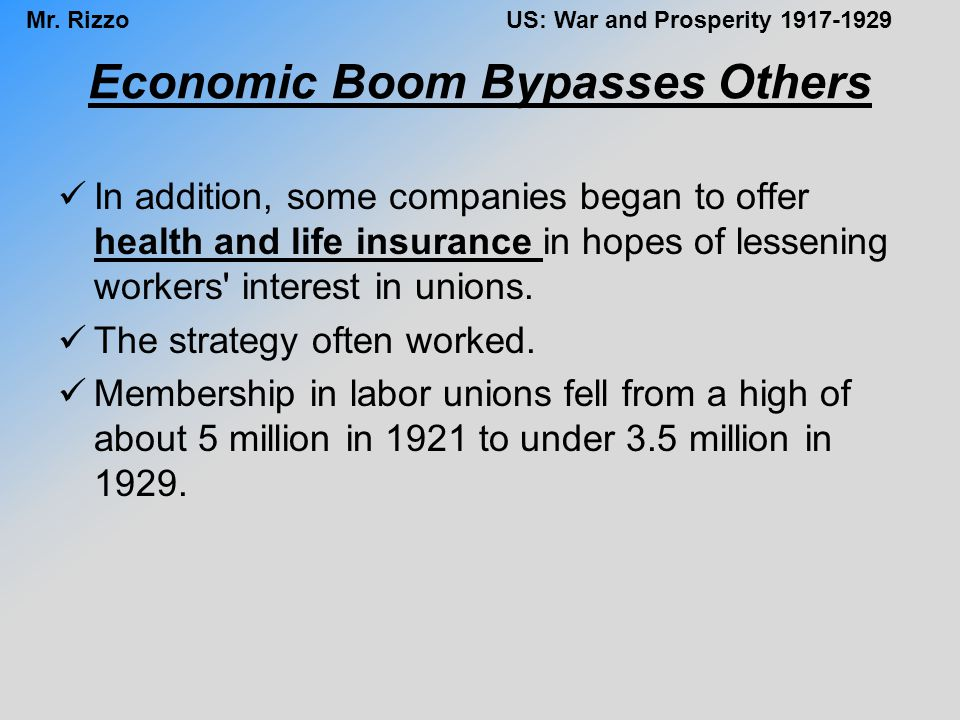 Economic Boom Bypasses Others