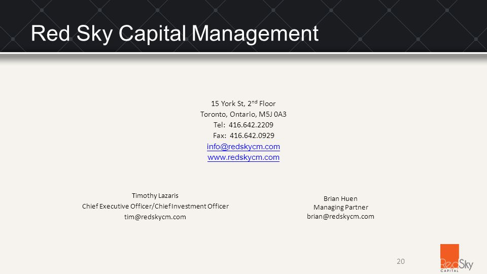 Red Sky Capital Management