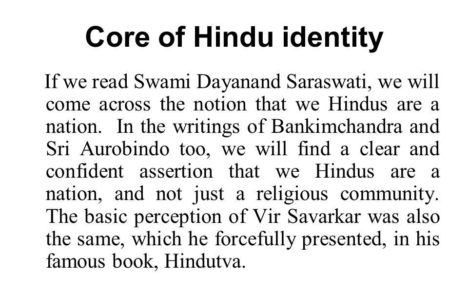 Core of Hindu identity