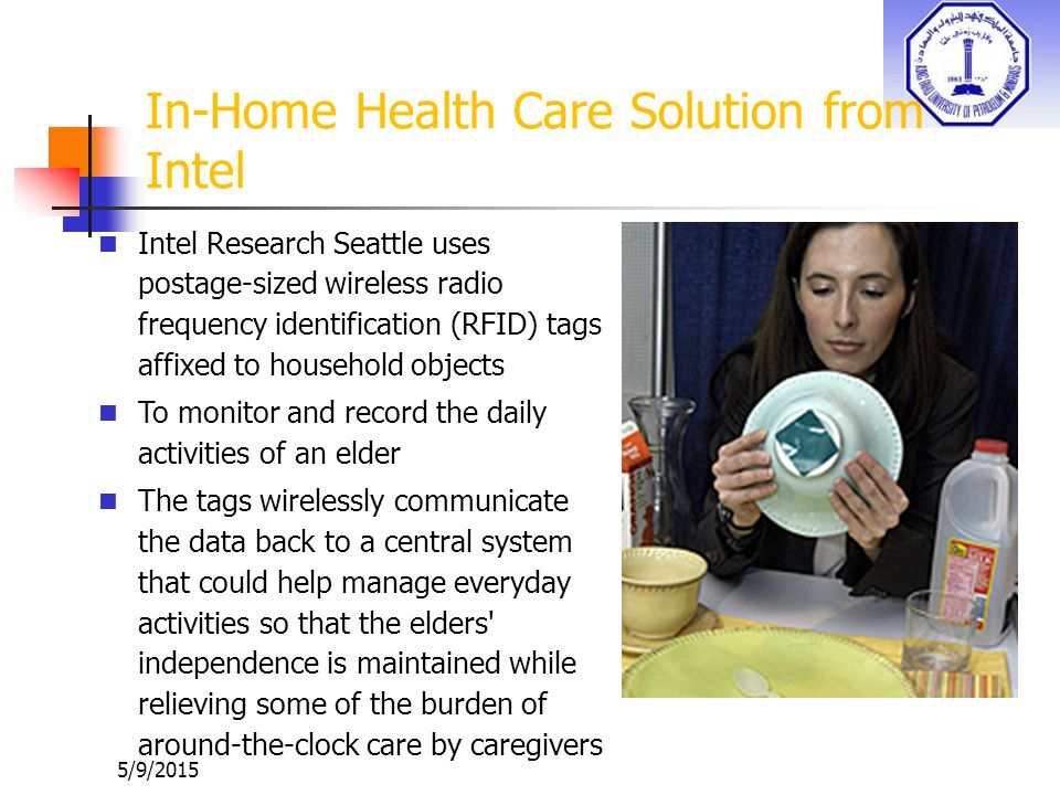 In-Home Health Care Solution from Intel