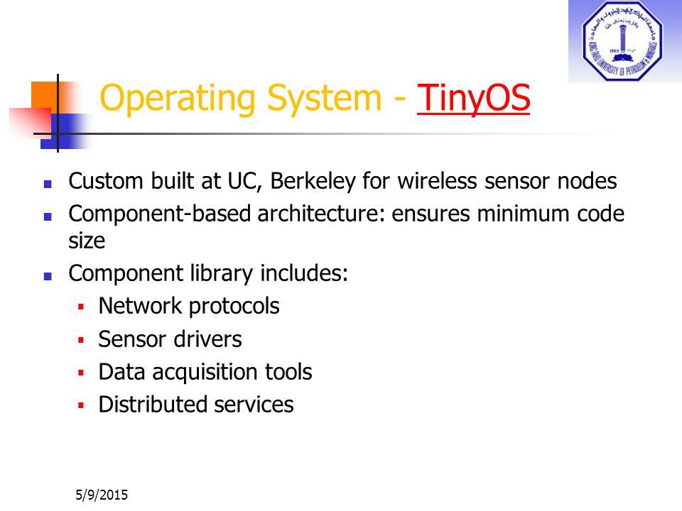 Operating System - TinyOS