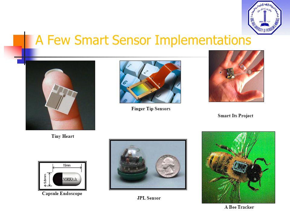 A Few Smart Sensor Implementations