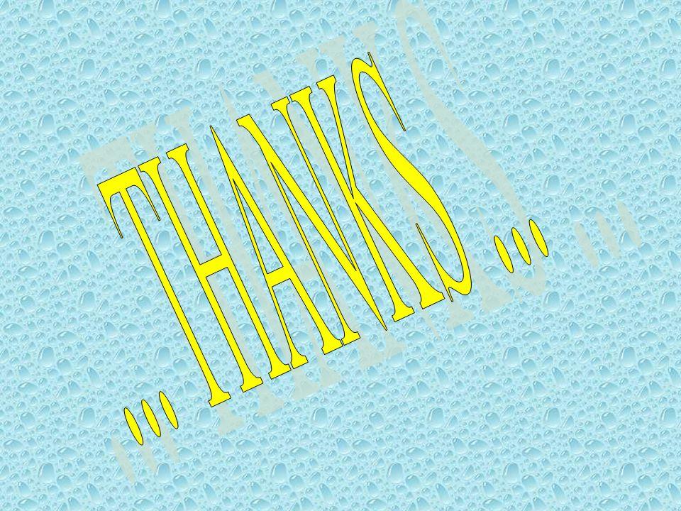 ... THANKS ...