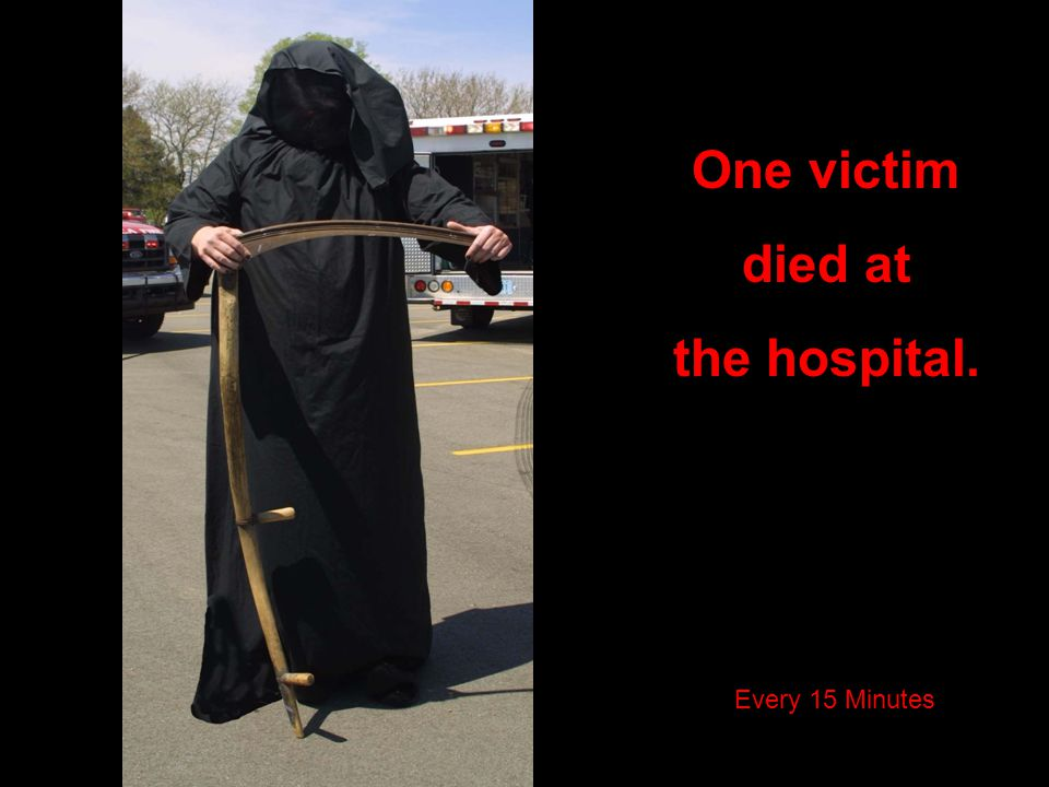 One victim died at the hospital.