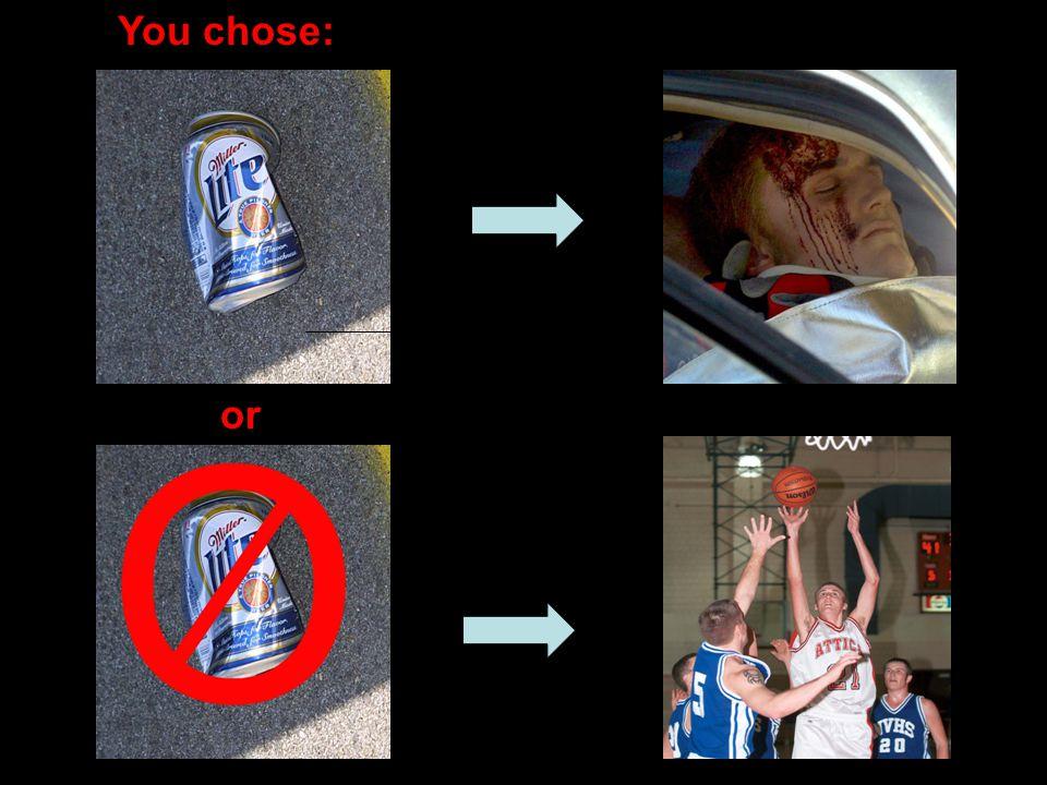 You chose: or