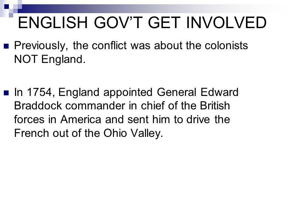 ENGLISH GOV'T GET INVOLVED