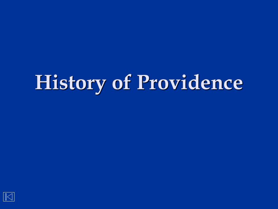 History of Providence