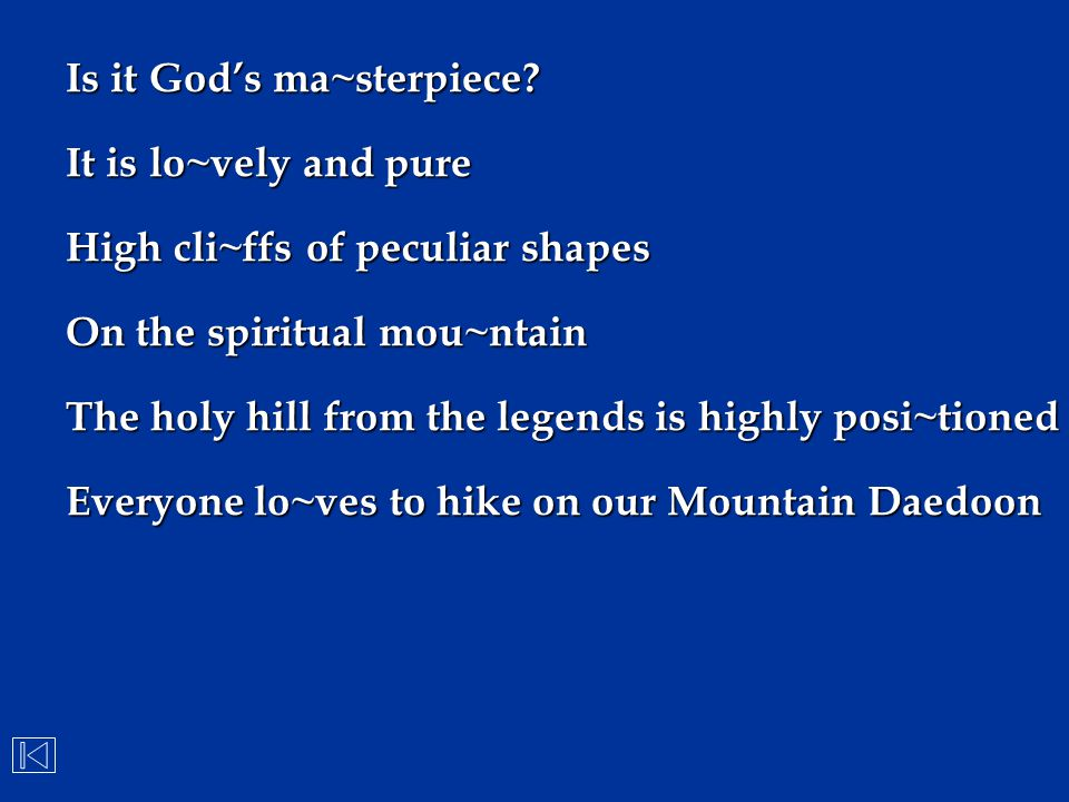 Is it God's ma~sterpiece