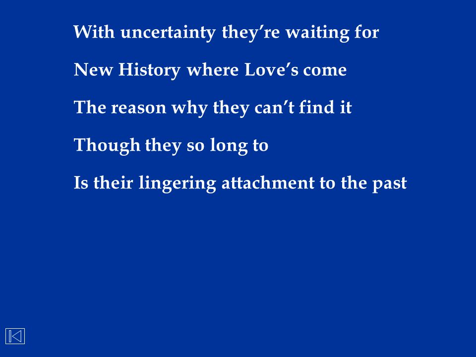 With uncertainty they're waiting for